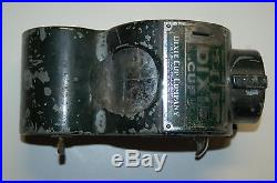 1913 Patented Vintage Dixie Cup Company Coin Operated Dispenser with 2 keys HEAVY
