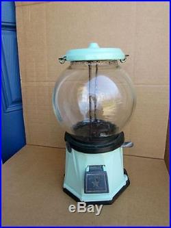 1920's Vintage COLUMBUS Model 21 Gumball Peanut Vending Machine