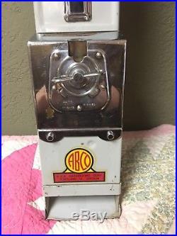 1920's Vintage Hershey's Milk Chocolate 5 Cent Vending Machine Great Condition