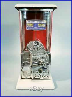 1923 Vintage Antique Penny Nickel Goosenec Master Gumball Peanut Vending Machine