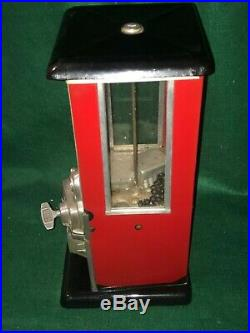 1923 Vintage Masters Gumball, Peanut, Or Candy Machine 1 Cent