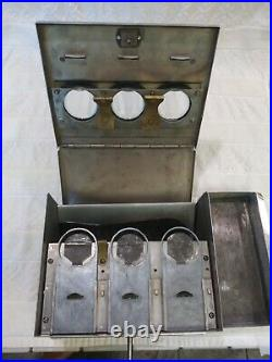 1930's VINTAGE PENNY COIN OP GUARANTEED PRODUCTS MINT PATTY VENDING MACHINE