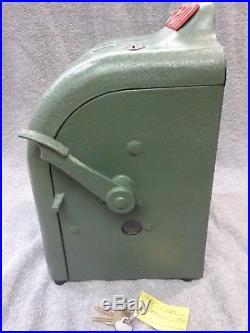 1936 Vintage Gem Coin Op Trade Stimulator Cigarette Slot Machine Gumball Vending