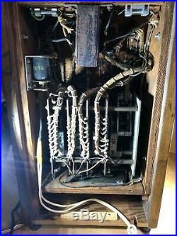1938 VINTAGE Ballys ANTIQUE Cigarette VENDING MACHINE very Rare Working