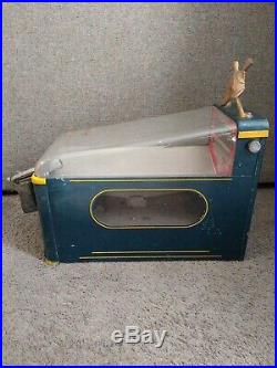 1940's Vintage Duck Hunter Shot The Duck Penny Gumball Machine