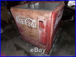 1940's coca cola coke machine vintage old rare classic vending soda pop