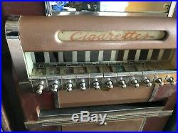 1940s 1950s VINTAGE CIGARETTE MACHINE NATIONAL G MOVIE PROP ANTIQUE G