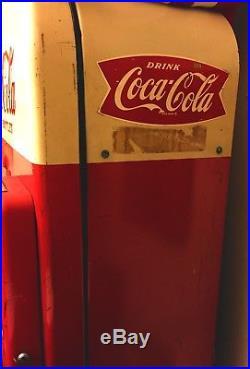 1945 Rochester Bottling Vintage Coke Machine Antique Coca Cola Vending