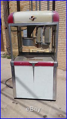1947 Vintage Manley Model Popcorn Machine taking offers