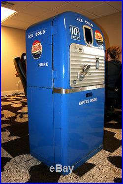 1950 Vintage Pepsi Machine VMC Dual 27
