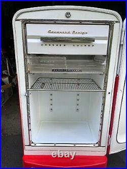 1950's Philco Fridge RENOVATED to look like a Vintage COCA-COLA Soda Machine