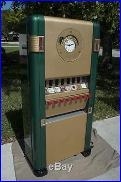 1950's Vintage/Antique Rowe Cigarette Vending Machine Restored