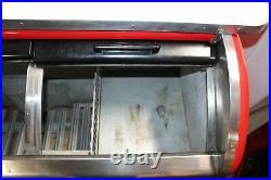 1950's Vintage Coca-Cola Cooler Victor Refrigerator 2 Drawer Bar