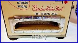 1950's Vintage MID Century Vending Machine For Pens