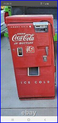 1950's Vintage Westinghouse Wc42t Coca Cola 10 Cents Coke Soda Machine