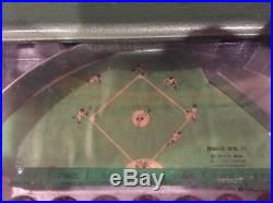 1950's Vintage baseball gumball machine trade stimulator new old stock