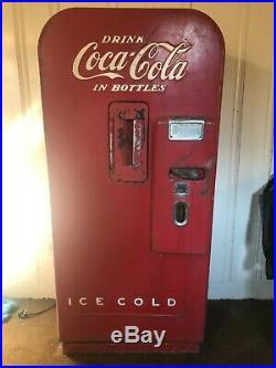 1950's Working Vintage Vendo 39 Antique Coke Machine