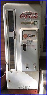 1950s Coca Cola Vending Machine Cavalier 96 CS 96 Coke bottle vintage antique