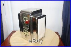1950s Original Swami Fortune Teller Chrome Vintage Napkin Dispenser