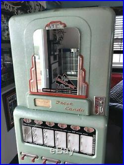 1950s Vintage Stoner Candy Machine Coin Operated 5 and 10 cents