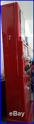 1950s Vintage Stoner Candy Machine Painted Red