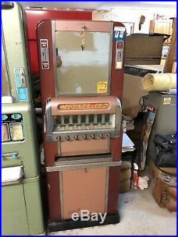 1950s vintage national cigarette machine