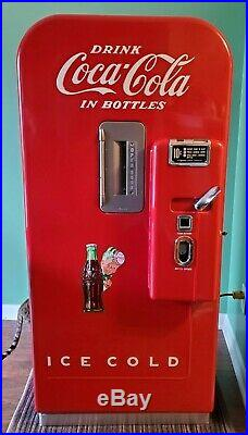 1951 Working Vintage Vendo 39 Antique 10 cent Coke Machine