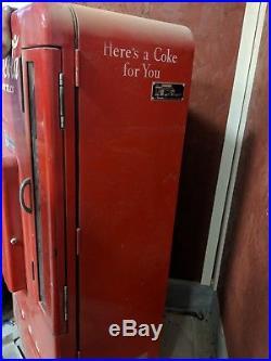 1953 Vintage Coke Machine