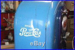 1953 Vintage Pepsi Soda Light Up Jacobs Model 56 Vending Machine Original