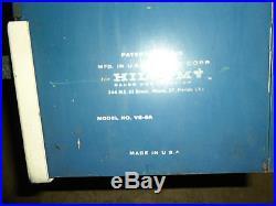 1960's Postage Vend-a-stamp Machine Model Vs-8c Great Shape Nice Vintage Piece