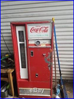 1960's Vintage Coke Machine