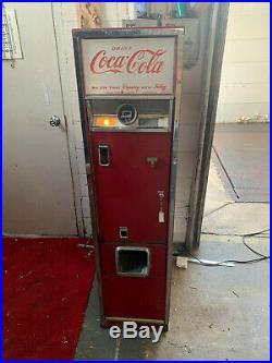 1962 Antique Cavalier C-55e Vintage 15 Coca-cola Vending Soda Pop Coke Machine