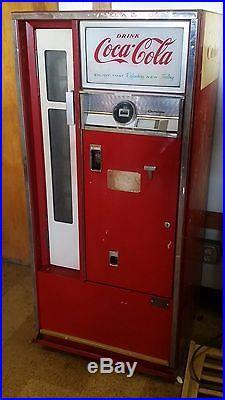 Pop Machine For Sale >> 1962 Vintage Cavalier Coca Cola Vending Machine Cs 64e Coke