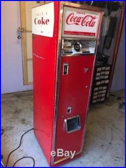 1963 Cavalier Cs-55e Vintage Coca-cola Vending Machine