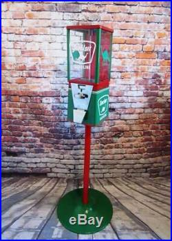 25 cent vintage gumball machine Sinclair gas man cave home decor office novelty