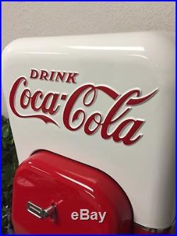 44 VMC coke machine Vendo 1956 vintage Coca cola Gun Safe Storage Cabinet USA