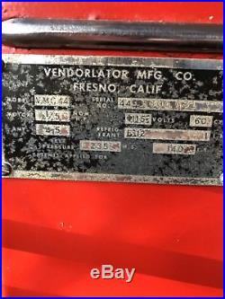 44 VMC coke machine vintage Coca Cola