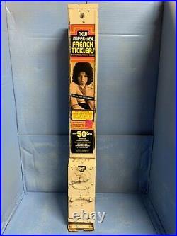 50¢ Vintage Condom Machine withkeys, Decal, Back door, Cashbox