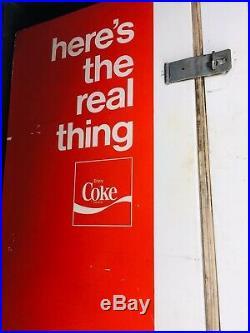 60s Vintage Coin Coke Coca-Cola RetroVending Machine Westinghouse WB66-MA-11 OLD