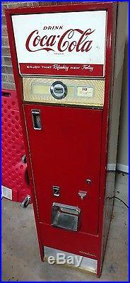 Antique Cavalier C-55d Vintage 15 Coca-cola Vending Soda Pop Coke Machine