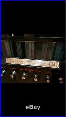 ANTIQUE VINTAGE RESTORED ART DECO 1930s ROWE CIGARETTE VENDING MACHINE CHROME