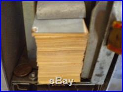 ASK SWAMI FORTUNE TELLER napkin dispenser-vintage working condition