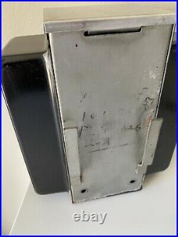 ASK SWAMI Vintage NAPKIN HOLDER FORTUNE TELLER Trade Stimulator With Cards