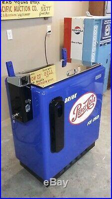 A-55 Pepsi Slider machine, Ideal Dispenser, 1950s, Vintage
