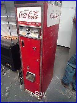 Antique Cavalier C-55e Vintage 15 Coca-cola Vending Soda Pop Coke Machine