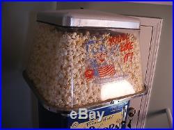 Antique/Cebco Vintage Gold Medal Model 100 Popcorn Vending Machine Arcade Decor