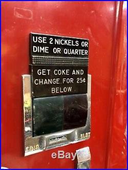 Antique Coca Cola Coke Machine Westinghouse Vintage