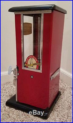 Antique Coin Op Nut Peanut Machine Candy Store Vintage Vendor