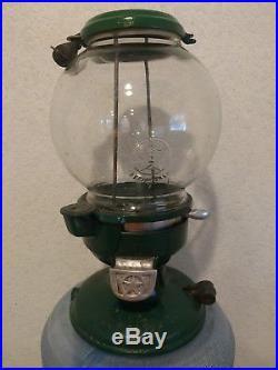 Antique Columbus Vending Company Model A Coin Op Gumball/Peanut Machine Vintage