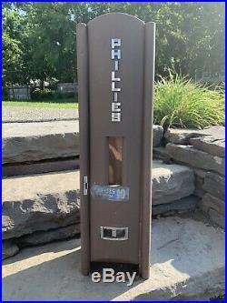Antique Rare, art deco vintage cigar vending machine bar man cave old great look